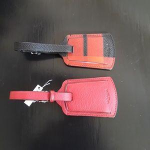 Coach luggage tags